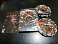 God of War II (Sony PlayStation 2, 2007) COMPLETE! TESTED! FREE SHIPPING!