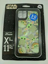 Disney D-Tech The Mandalorian Baby Yoda iPhone 11 Pro Max and Xs Max Phone Case