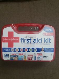 Johnson & Johnson All-Purpose Portable Compact Emergency First Aid Kit- Be Smart