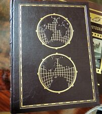 THE WORLD ATLAS Easton Press OVERSIZED ILLUSTRATED RARE FINE