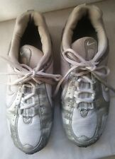 b0da6b2d026 NIKE IMPAX TRAINING RUNNING TENNIS SHOES WHITE   SILVER 312098 WOMENS ...