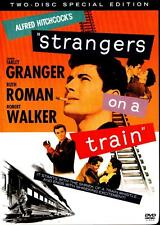 Strangers On A Train 1951 FarleyGranger Oop Dvd 2-Disc Sp Ed Warner 2004 Hitchco