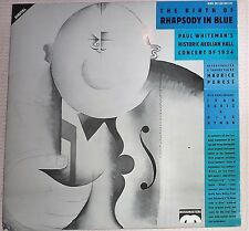 VINYL RECORD ALBUM / THE BIRTH OF RHAPSODY IN BLUE ( PAUL WHITMAN)