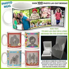 Personalised Photo Mug - Add text - 100+ Layouts, Gift Idea, Ceramic Coffee, Tea