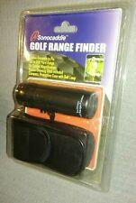 Sonocaddie Golf Range Finder Compact 8x Magnification 50-200 Yard Range NEW