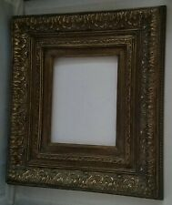 Regnault Barbizon Style HandCrafted Wood Picture Frame W/Dark Gold Liner 8x10