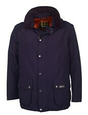 Brand New Men's Barbour Hexham Navy Waterproof Jacket