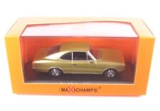 Opel Rekord C Coupe (Gold Color) 1966 - 1:43