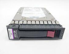 "HP 450GB 15K DP SAS 3.5"" hard drive w CADDY 454274-001 P/N 516810-002"