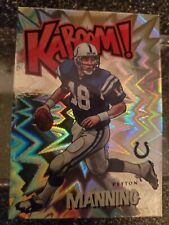 New listing 2020 Panini Absolute Peyton Manning Kaboom! Insert SP Indianapolis Colts
