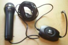 Logitech Black USB Microphone MIC A-0060A Xbox 360, PS3, Wii and PC