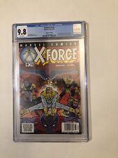 x-force 116 newsstand edition cgc 9.8