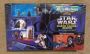 Star Wars Micro Machines Transforming Action Set: Darth Vader/Bespin Playset