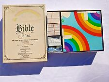 Vintage BIBLE TRIVIA BOARD GAME Adults Children 1984 Cadaco #811 Christian Study