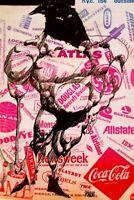 THE CORPORATE EXECUTIONER- POSTER RAT SUBTERRANEAN NEWS 1968 - RARE