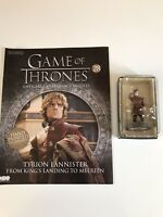 Eaglemoss Game Of Thrones Tyrion Lannister Issue 28 Magazine and figure.