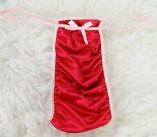 Sissy OS L XL SILKY SOFT Liquid Satin Micro RIO Tanga HOT PINK MENS panties