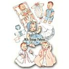 """Baby Doll Clothes Vtg Pattern ~ for 8"""" Ginny, Ginnette, Wendy, Alexander-kins"""