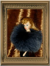 ~*~STUNNING BLUE FOX FUR PAW WRAP FOR SILKSTONE BARBIE MARILYN MONROE DOLL~*~