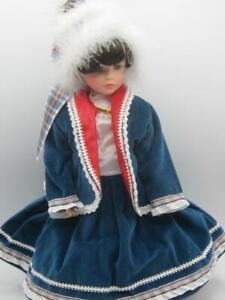 "Chrissy Winter dress outfit designed Chris Miller Originals 1998 doll Mint 14"""