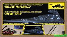 """FIBER OPTIC LIGHTING SET FOR ZVEZDA 9057 MODEL KIT """"STAR DESTROYER"""" 1/2700"""