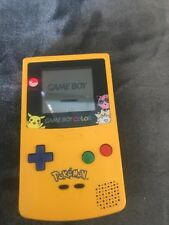 Limited Edition Pokemon Yellow Game Boy Color Handheld System! ~