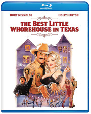 The Best Little Whorehouse in Texas (Blu-ray) • NEW • Burt Reynolds, Dolly