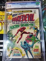 Daredevil Annual #1 CGC 8.0 Off-White Pages