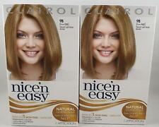 2 x Clairol Nice'n Easy Permanent Hair Dye, 9B Natural Light Beige Blonde