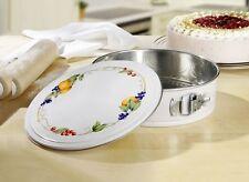 Springform Backform Set mit Deckel Kuchenform Tortenform Quiche Obstkuchen 24cm