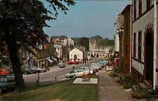 Great Britain Postcard color postal ak 1978 appleby calle auto coches Cars
