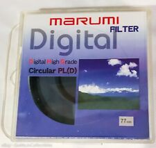 Marumi DHG Circular Polarizing PLD Filter 77mm Made in Japan - used, great cond.