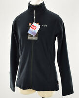 HELLY HANSEN Womens Black DAYBREAKER Zip Lightweight Fleece Jacket SMALL NWT