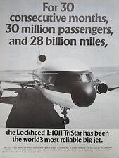 7/1976 PUB LOCKHEED L-1011 TRISTAR AIRLINER AIRLINES / GRUMMAN APOLLO LM F6F AD