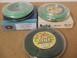 Vintage fly line selection x 3    *** BRAND NEW ***