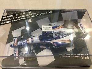MINICHAMPS 1/43 DAMON HILL, WILLIAMS RENAULT FW18 1996 F1 WDC EDITION, 430960005
