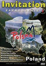 Invitation to Poland V. 1 (DVD) Zaproszenie do Polski cz. 1 NTSC POLSKI POLISH
