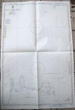 MAPPA CARTA NAUTICA CRETA KRITI TO NISIS MILOS GRECIA GRECEE 1966-1971