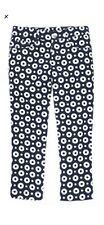 NWT Gymboree PARISIAN AFTERNOON navy dot cropped twill pants size 5