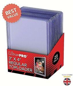 Ultra Pro Top Loaders Premium Card Sleeve - Pokemon MTG Yugioh- Toploader 1-100