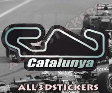 Adesivi Resinati 3D Circuito Catalunya 13,5x6 cm