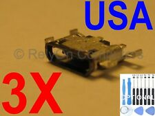 3x Micro USB Charging Port Charger Power Sync For Motorola Moto G4 / G4 plus USA
