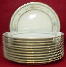 """NORITAKE china AMENITY 7228 pattern SALAD PLATE 8-3/8"""" set of ELEVEN (11)"""
