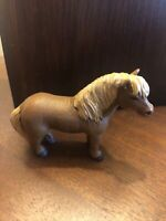 NEW 2001 SAFARI LTD Shetland Pony Retired Model Horse Educational Farm Barn Toy