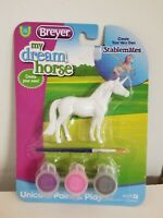 Breyer Horses Stablemates Size Unicorn Paint and Play Craft Set #4217 - Assorted
