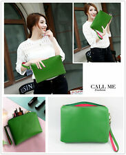 Makeup Beauty Cosmetic Bag Pencil Case Card Zipper Holder Wallet Handbag Travel