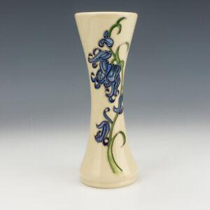 Moorcroft Pottery - Bluebell Pattern Tube-lined Vase
