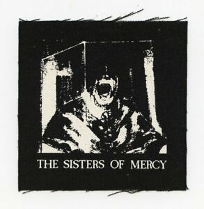 SISTERS OF MERCY Body Electric Goth Punk Canvas Patch Siouxsie Bauhaus
