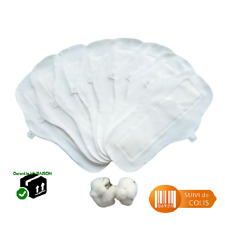 5 pcs serviette périodique hygiénique absorbante lavable non toxique avec sac