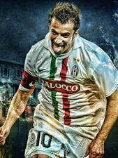 POSTER ALESSANDRO DEL PIERO ALEX 10 JUVE JUVENTUS SOCCER FOOTBALL CALCIO #11